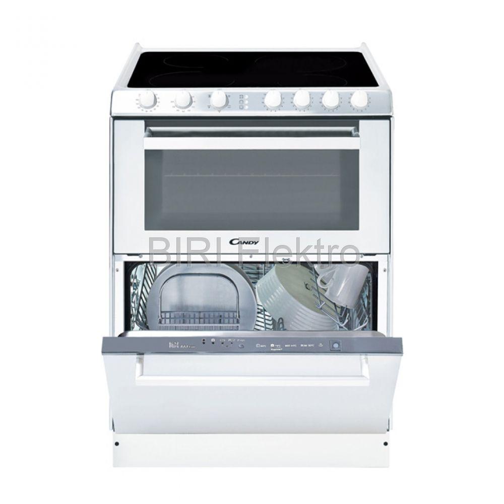 Candy TRIO 9503/1W minikonyha - elektromos tűzhely és mosogatógép